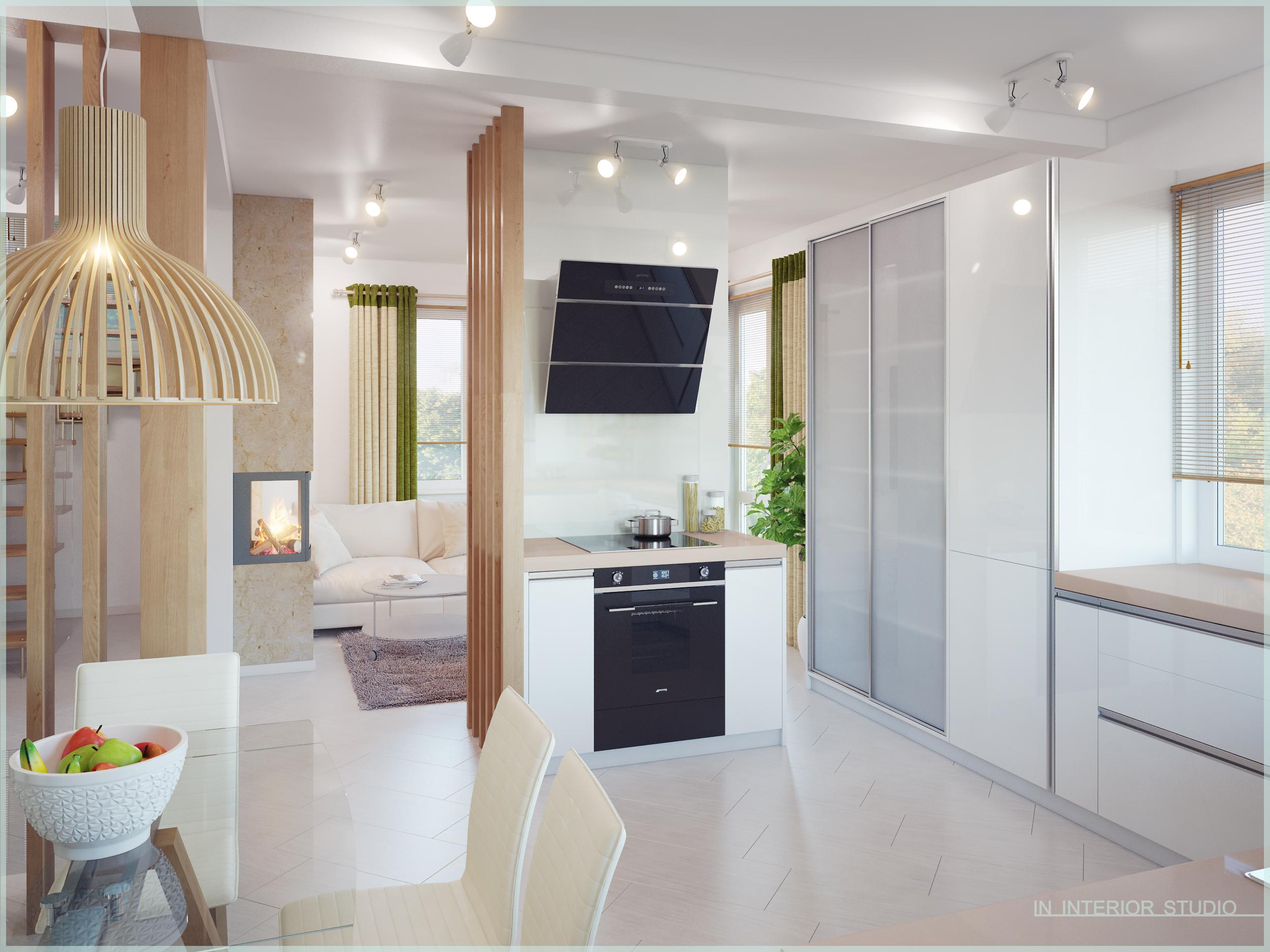Кухонная мебель и техника