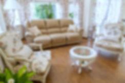 Мягкая зона в гостиной
