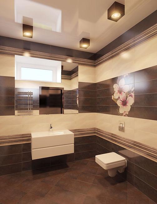 Дизайн санузла в частном доме от In Interior Studio