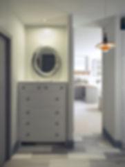 Холл квартиры в Скандинавском стиле