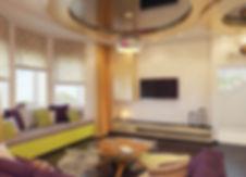 Дизайн гостиной в частном доме от In Interior Studio