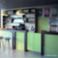 Дизайн-проект пиццерии Cafe Da Vinci
