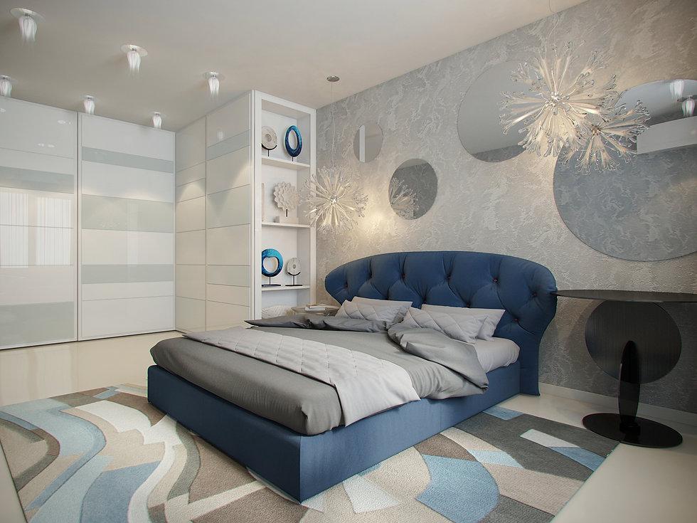 Итальянская история от In Interior Studio, дизайн спальни