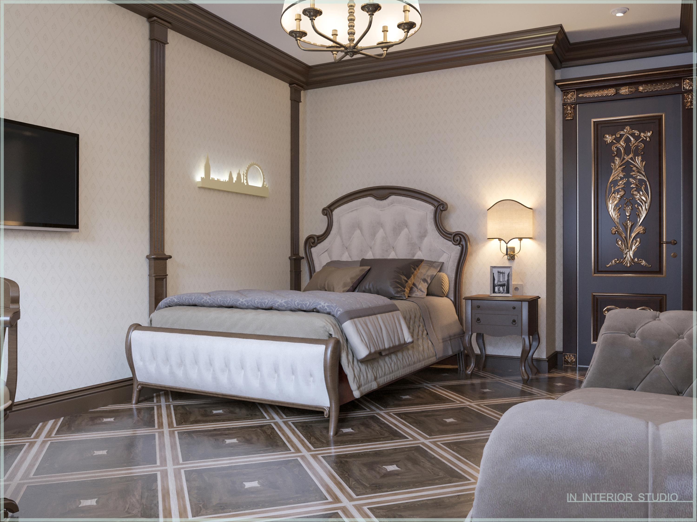 Классическая спальня для мальчика