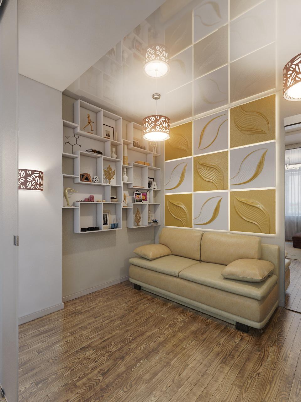дизайн холла квартиры