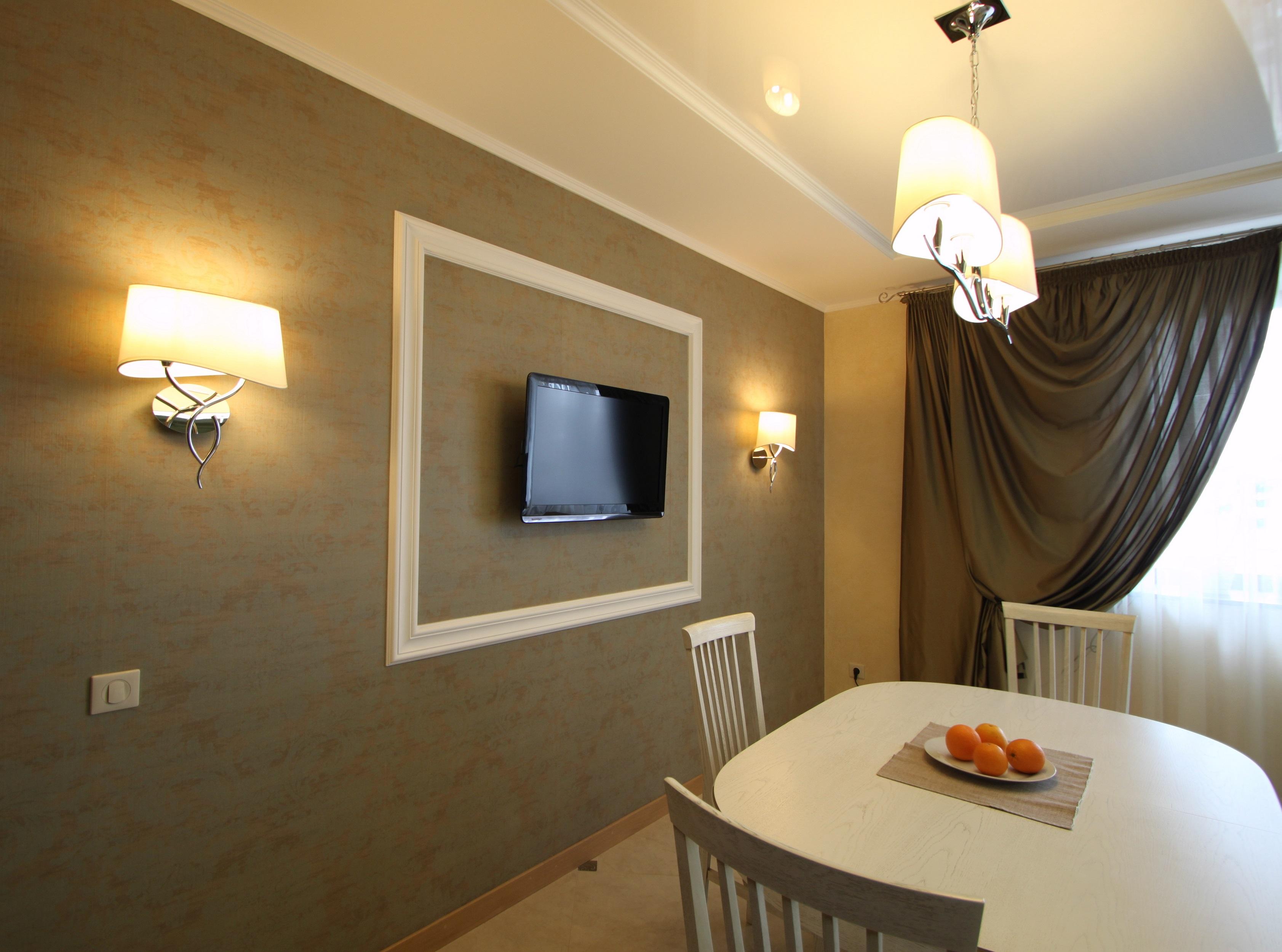 Освещение столовой в частном доме