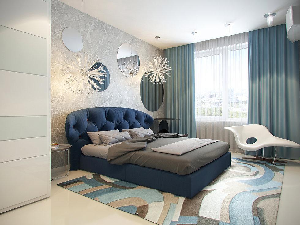 Итальянская история от In Interior Studio, дизайн спальной комнаты