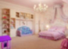 Дизайн детской комнаты девочки в частном доме от In Interior Studio