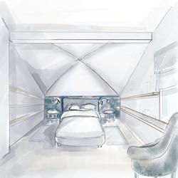 спальная комната вариант 2