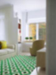 Вход в гостиную в Скандинавском стиле