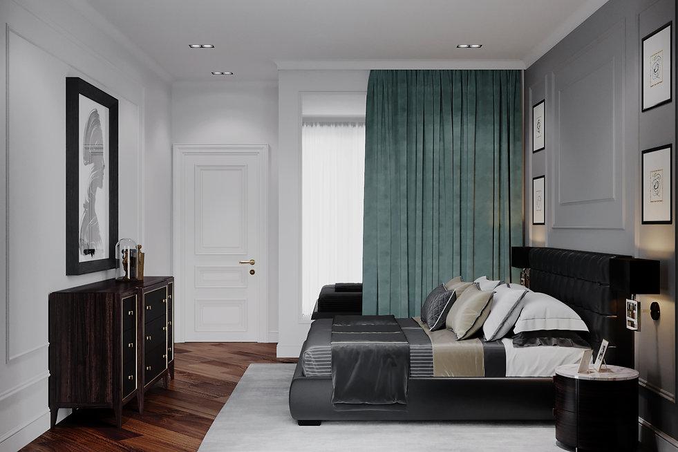 Спальная комната. Амеиканская классика.
