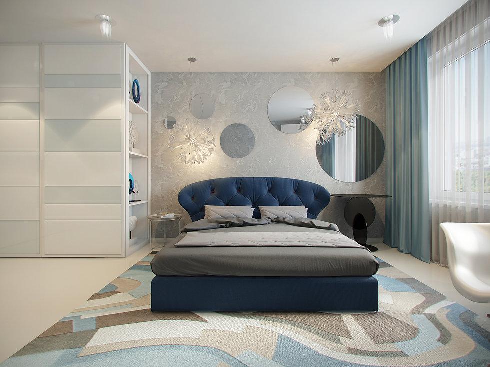 Итальянская история от In Interior Studio, спальная комната