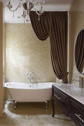 Ванная комната в неоклассическом стиле