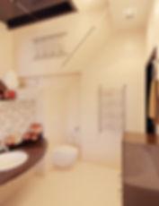 Дизайн ванной комнаты в частном доме от In Interior Studio