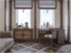 Русский классический стиль интерьера. In Interior Studio