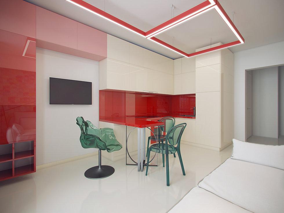 Итальянская история от In Interior Studio , дизайн кухни