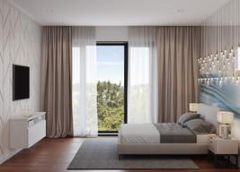 3Д графика спальной комнаты