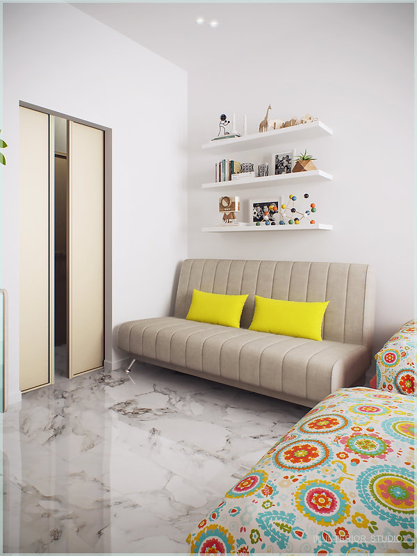 Дизайн квартиры в ЖК Смольный Парк
