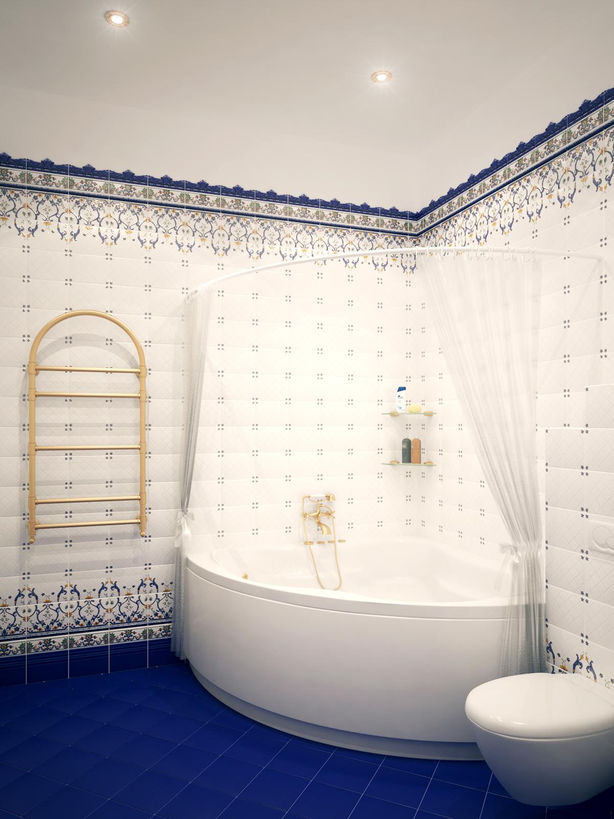 Вид на ванну