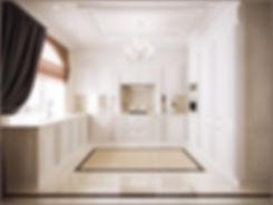In Interior Studio Обзор на кухню, блый кухонный гарнитур