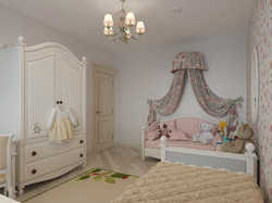 визуализация детской комнаты
