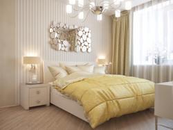 3d эскизы спальной комнаты