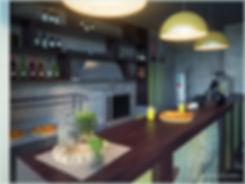Визуализации дизайн-студии интерьеров In Interior Studio