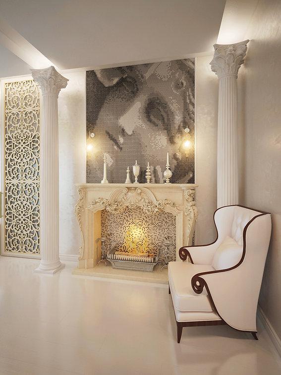 Визуализации дизайн-проекта квартиры в Санкт-Петербурге от In Interior Studio