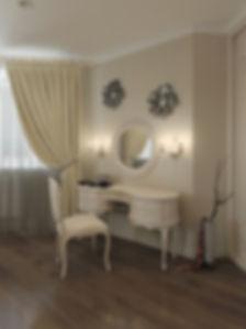 дизайн туалетного столика в спальной комнате