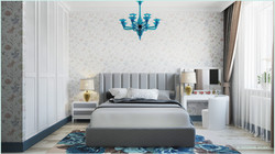 Нежная спальная комната