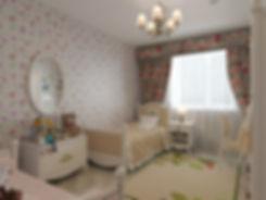дизайн детской комнаты в коттедже