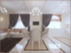 In Interior Studio Столовая, обзор на открытое пространство