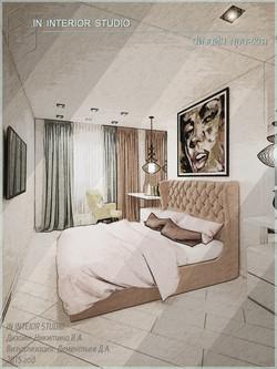 дизайн квартиры в стиле поп-арт