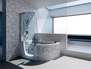 ванна и душ - гибрид