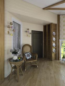 Дизайн веранды дачного дома