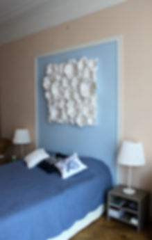 Декорирование на Петроградке от In Interior Studio, голубой цвет