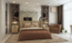 дизайн спальной комнаты спб