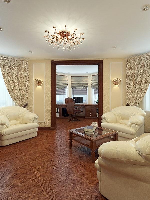 дизайн квартиры на 1-й Никитинской
