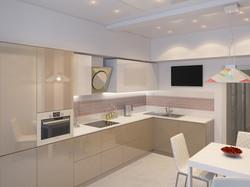 дизайн кухни в минимализме