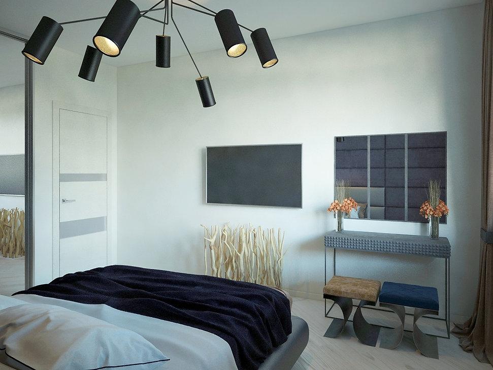 Design Bedroom in Interior Studio