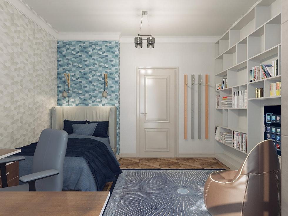 In interior Studio Неоклассика. Детская комната.