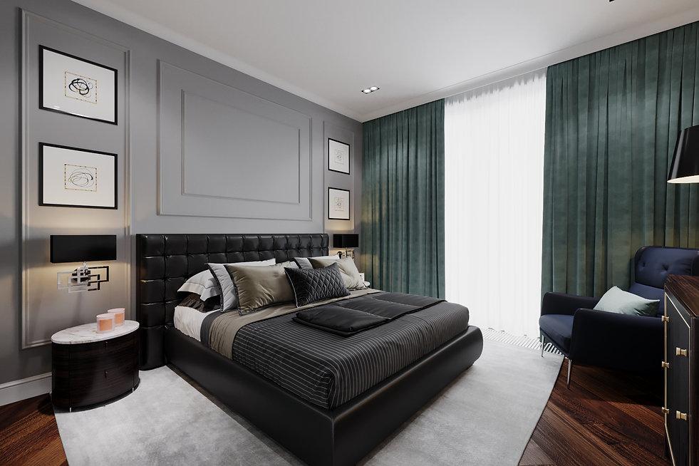 Спальная комната. Американская классика.