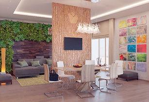 Мы закончили дизайн-проект загородного дома в ЭкоСтиле
