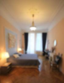 Декорирование на Петроградке от In Interior Studio, обзор спальной комнаты