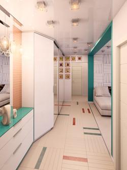 дизайн прихожей в современной кварти