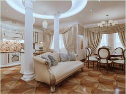 Колонны в гостиной