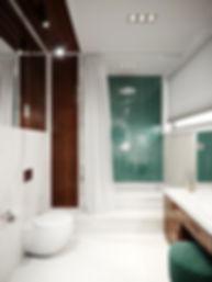 Встроенная ванна. Американская классика.