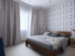 Дизайн спальной комнаты в Скандинавском стиле