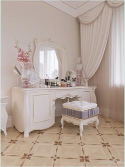 Туалетный столик с спальной комнате