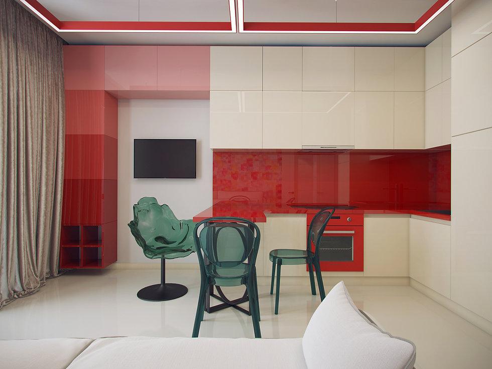Итальянская история от In Interior Studio, дизайн кухни